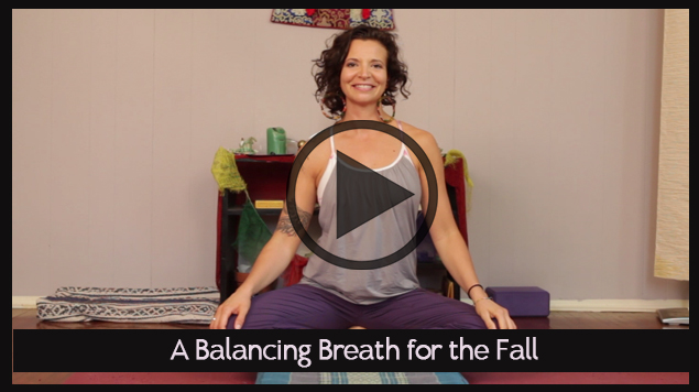 A Balancing Breath for the Fall