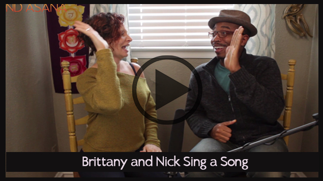 Brittany and Nick Sing A Song