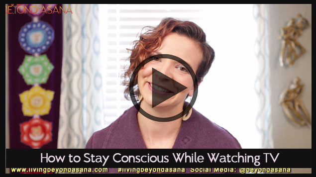watch tv consciously
