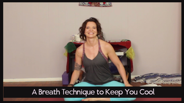 A Breath Technique to Keep You Cool