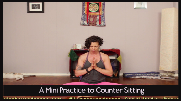 A Mini Practice to Counter Sitting