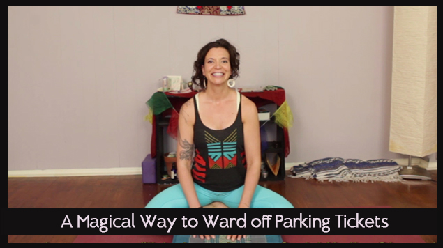 A Magical Way to Ward off Parking Tickets