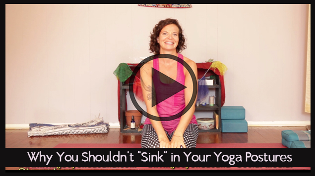 Why You Shouldn't Sink in Yoga Postures