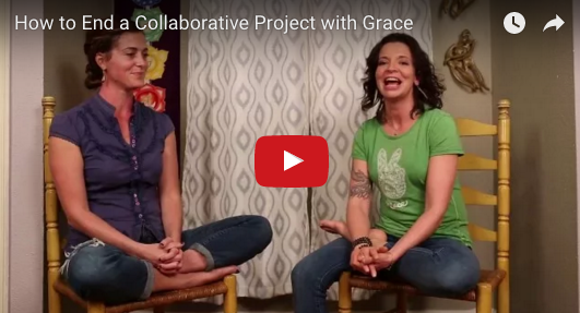 How to End a Collaborative Project with Grace