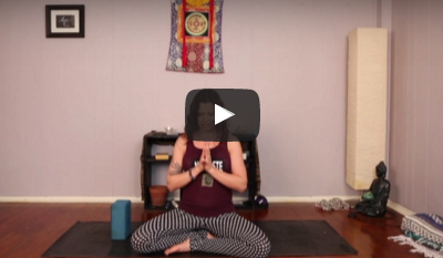 A Yoga Practice to Ease Your Troubled Heart
